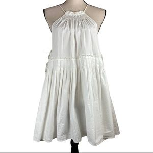 Free People Tunic Dress Cover Up Side Ties Small
